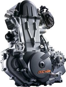 KTM LC4 690 Engine