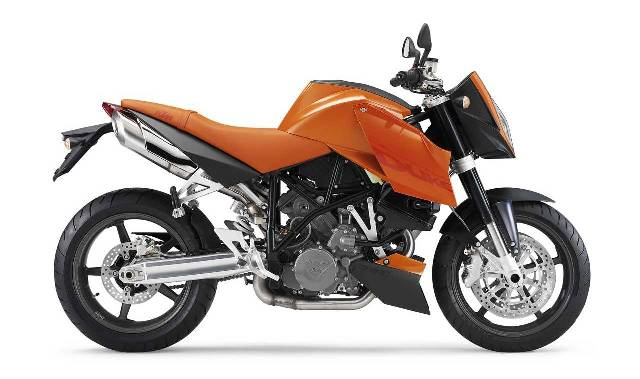 KTM 990 Super Duke Orange (2005)