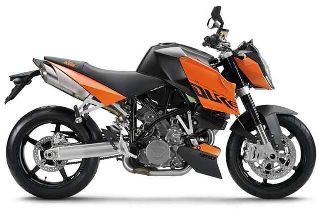 KTM 990 Super Duke Orange (2007)