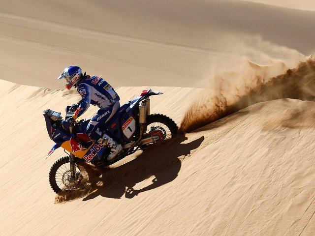 Cyril Depres has won 4 Dakar titles