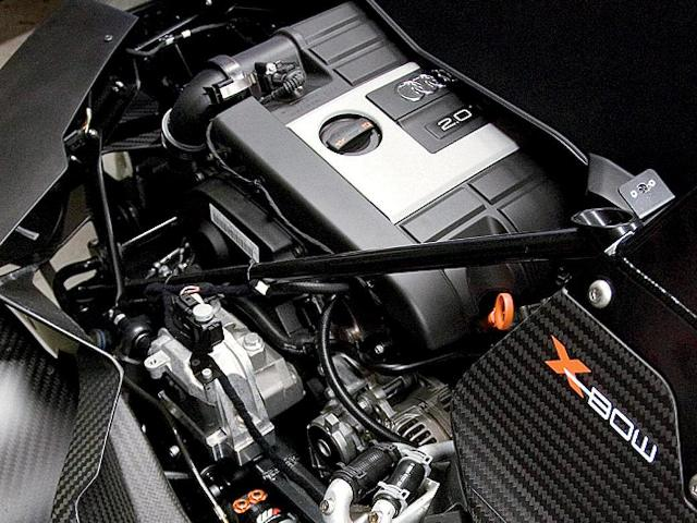 KTM X-Bow Engine