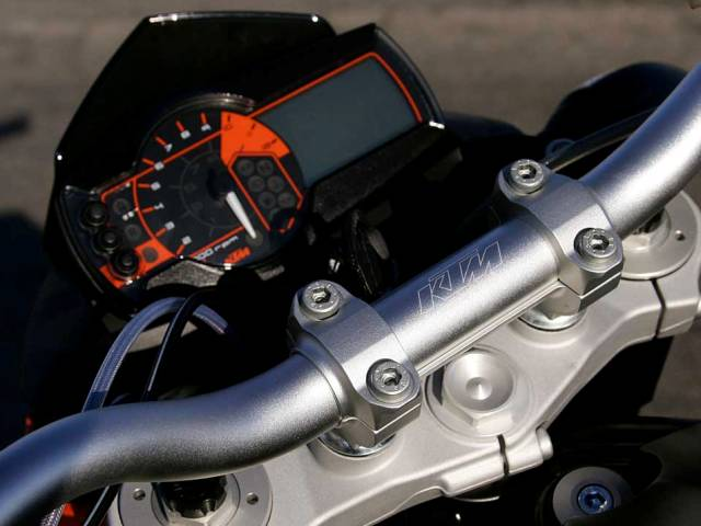 2007 KTM Super Duke new clocks
