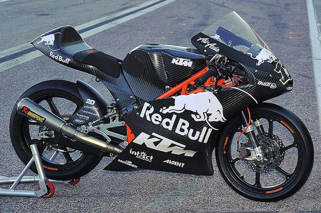 KTM Moto 3 bike