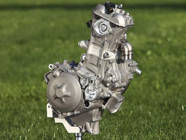 250cc, 25 kg, 54 hp!