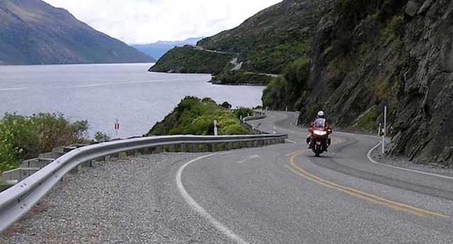 Riding in NZ