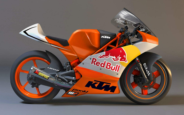 KTM unveil their 2012 Moto 3 machine
