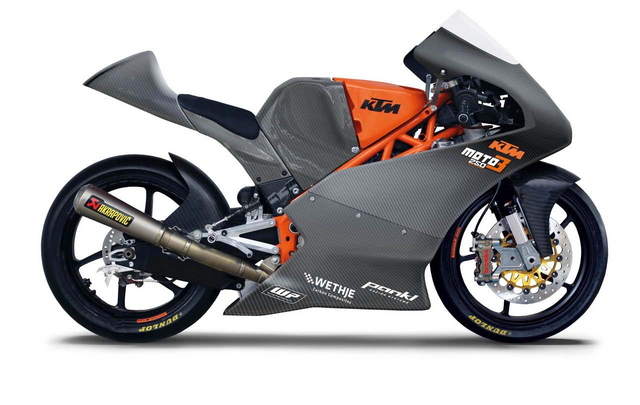 2013  production racer KTM RC 250 R