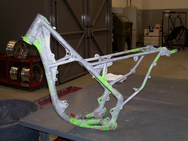 Single cradle frame