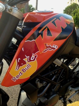 KTM Duke Custom Decals 9
