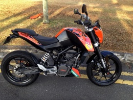 KTM Duke Custom Decals 8