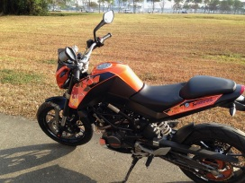 KTM Duke Custom Decals 5