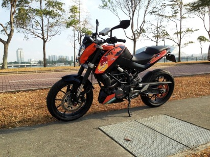 KTM Duke Custom Decals 2