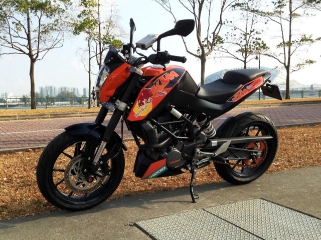 KTM Duke Custom Decals